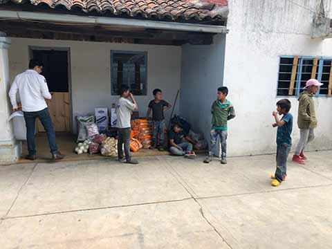 Refuerzan Ayuda Humanitaria Para Familias de Ejido Puebla, Chenalhó