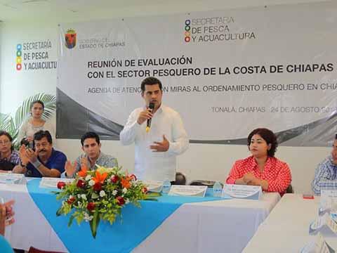 En Chiapas se Fortalece la Actividad Pesquera