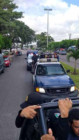 """Realizan """"Barrido de Seguridad"""" en Colonias de Tapachula"""