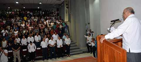 Inauguró el Rector de la UNACH el Ciclo Escolar Agosto-Diciembre 2018