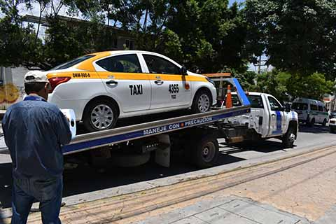 Secretaría de Transportes Combate el Transporte Irregular