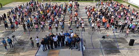 Inician Actividades Deportivas en el Campus IV con una Activación Física
