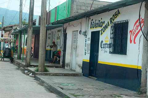 Presencia de Maras Salvatruchas en la Zona de Tolerancia de Huixtla