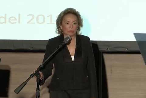 Reaparece Elba Esther en Público y Arremete Contra el Sindicato