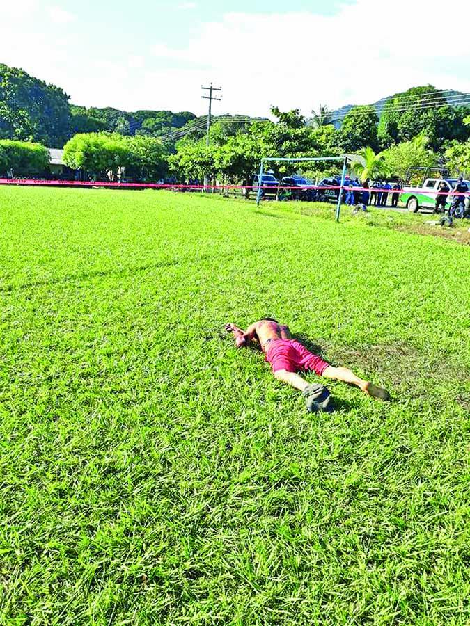 Comuneros Linchan a Presunto Homicida de Campesino