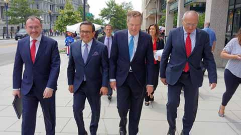 México y EU Retoman Negociaciones del TLCAN