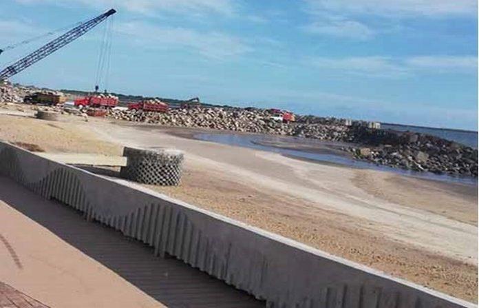 Con una inversión que supera los 40 millones de pesos, la obra podría estar concluida en noviembre.