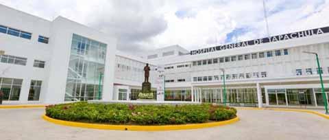 Hospital General de Tapachula Funciona en Óptimas Condiciones