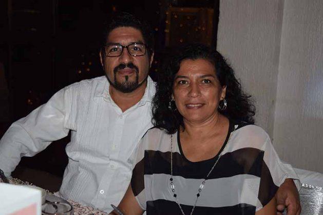 Daniel Gómez, Gloria Palomeque.