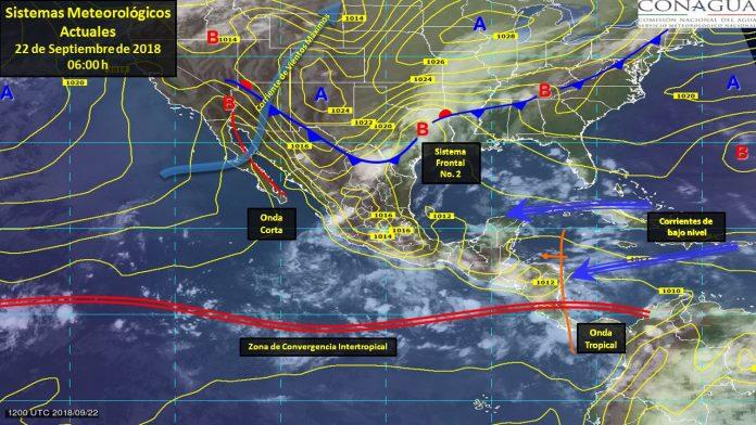 Se Prevén Tormentas Fuertes en Coahuila, Oaxaca, Puebla y Veracruz