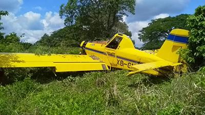 Se Desploma Avioneta