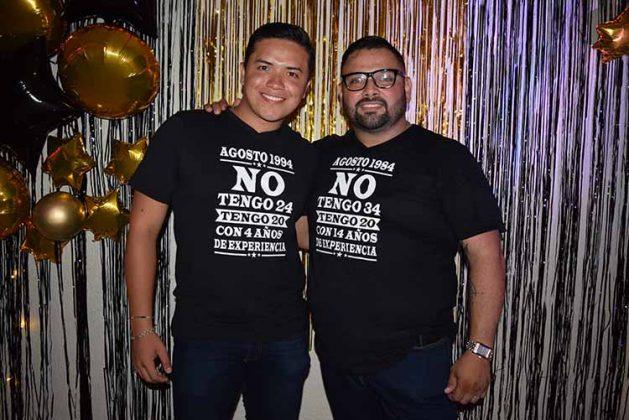 Mauricio Gordillo & Álvaro Islas.