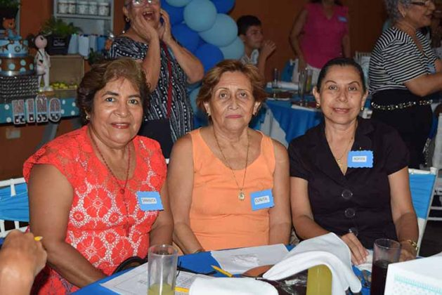 Geronima Martínez, Guadalupe Liebano, Marcela Torres.