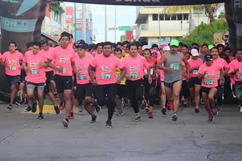 "Gran Participación en Carrera 5k ""Moverse Para Vivir"""