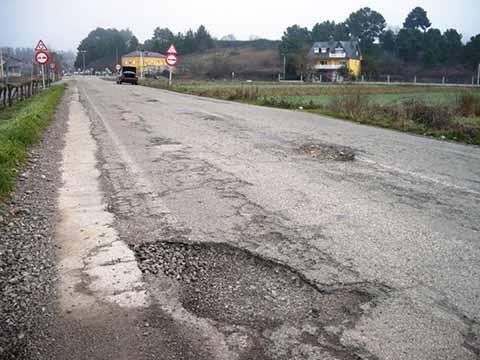 En Pésimo Estado la Carretera Costera
