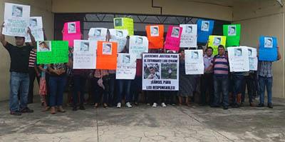 Claman Justicia Familiares de Estudiante Asesinado