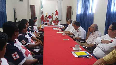 El delegado estatal de la benemérita institución, Francisco Alvarado Nazar, destacó que hace falta un programa de prevención para evitar este tipo de emergencias.