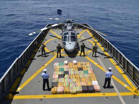 Armada Asegura 2 Toneladas de Cocaína en Costas de Oaxaca