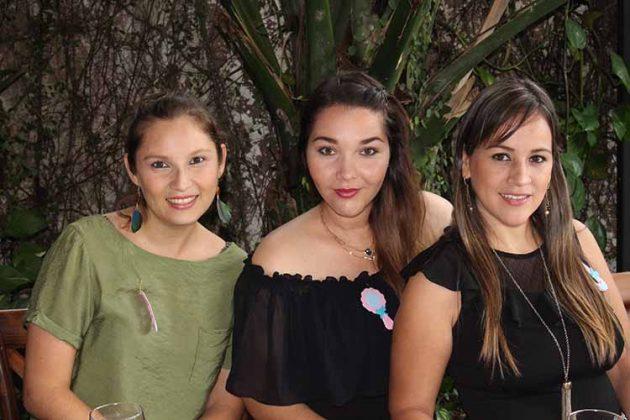 Ana Laura Silva, Roxana Colmenero, Nancy García.