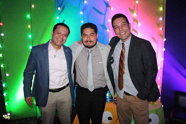 David Martínez, Heriberto López, Hiram López.