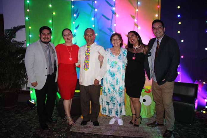 Heriberto, Cecilia, Melchor López, Magdalena Díaz, Hayde, Hiram López.
