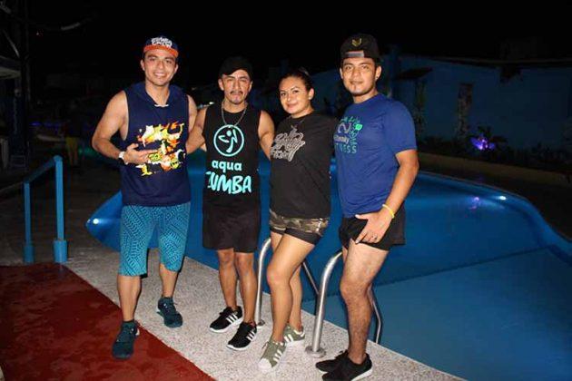 Roberto León, Braulio Cruz, Lupita Pacheco, Jeason Estudillo.