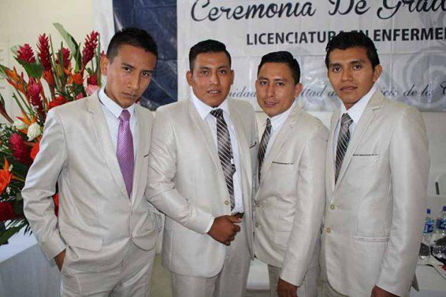 Fernando Gutes, Pablo Sarao, Braulio Arcos, Domingo Cruz.