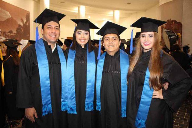 Juan Castillo, Arantza Cueto, Miguel Flores, Claudia Gómez.