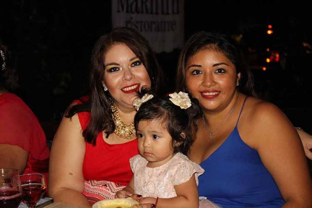 Flor Antemate, Valentina, Jessica García.