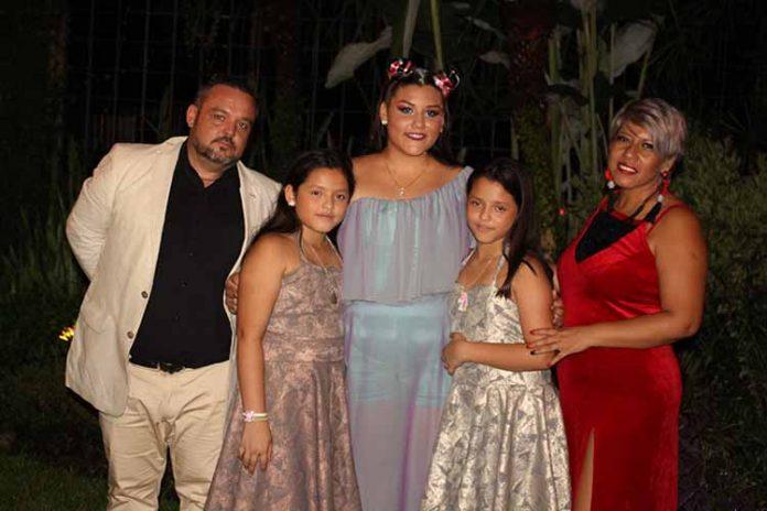 Antonio, Lucia, Astrid, Lucia, Vicky de Torregrosa.