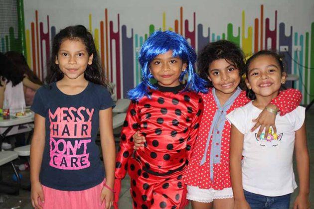 Mía Citalán, Constanza Ortiz, Allison Citalán, Renata Trujillo.
