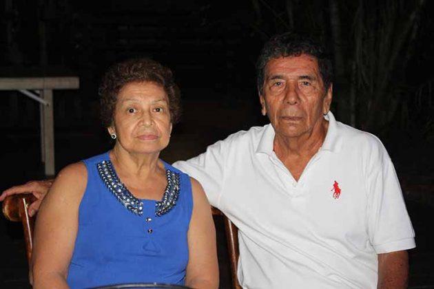 Martha Sánchez, Jorge Cárdenas.