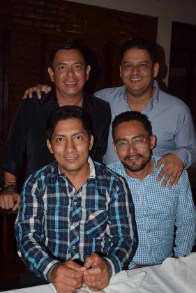 Jorge Villalobos, Marcos Rosa, Cristian de León, Omar González.