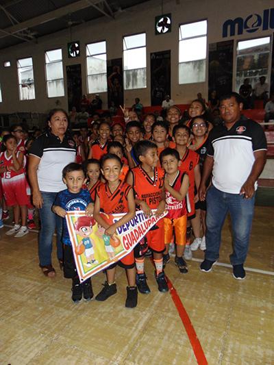 Inauguran Copa de Basquetbol Infantil 2018