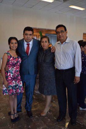 Cristina Robles, Martín Ruiz, Ivonne Sarmiento, Martín Ruiz.