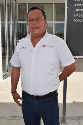 C.P. Alex Camey Baneco, administrador.