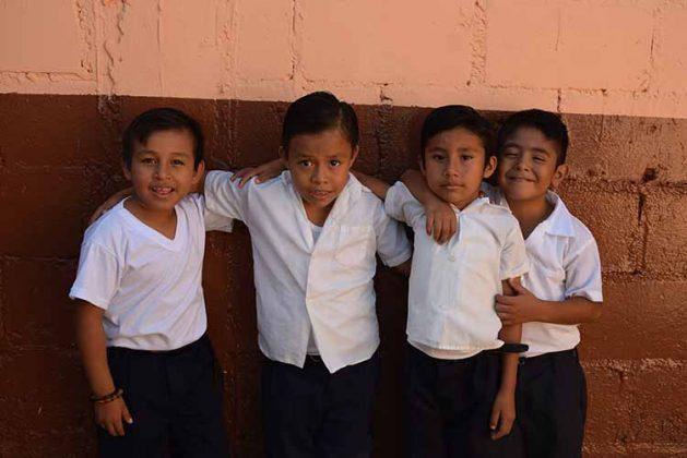 Yadani Calderón, Ángel García, Cristian Chávez, Rudy Gómez.