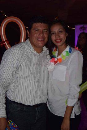 Lizbeth Martínez, Pedro Navarro.
