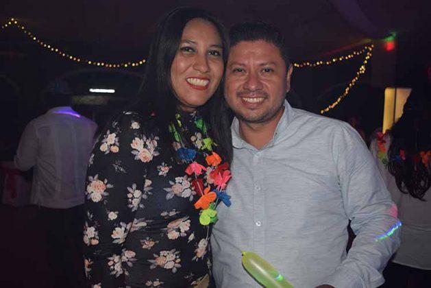 Dulce Estrada, Jaciel Solís.