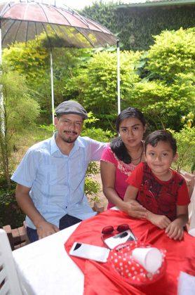 Omar Marín, Gabriela González, Dorian Ordóñez.