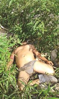 Muerto lo Encontraron en el río Coatán