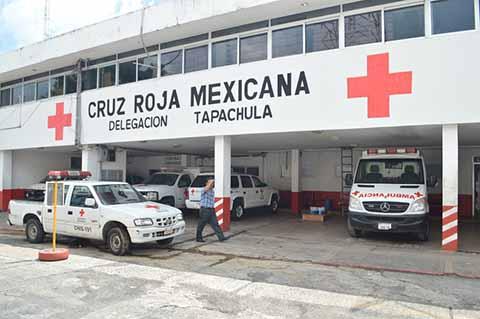 Cruz Roja Tapachula Sin Recibir Apoyos de Ayuntamientos del Soconusco