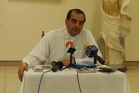 Ofrece Obispo Atender Temas Sensibles de la Frontera Sur