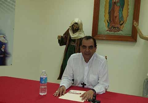 Urge Atender Muchos Pendientes en Chiapas: Obispo de Tapachula