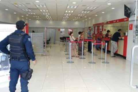 SSyPC Llama a Prevenir Robos a Usuarios de Banco