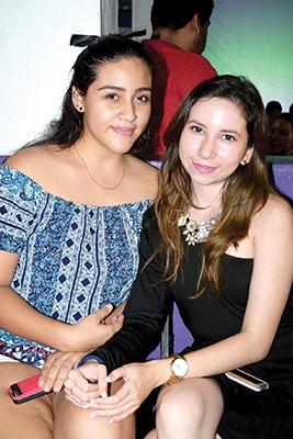 Itsi Espinoza, Naomi Reyes.