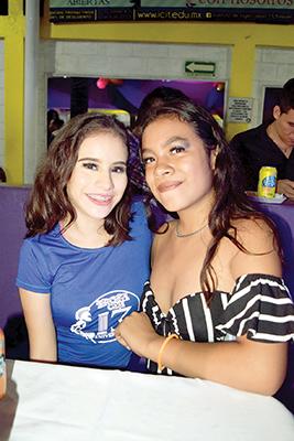 Irazema González, Lineth Espinosa.