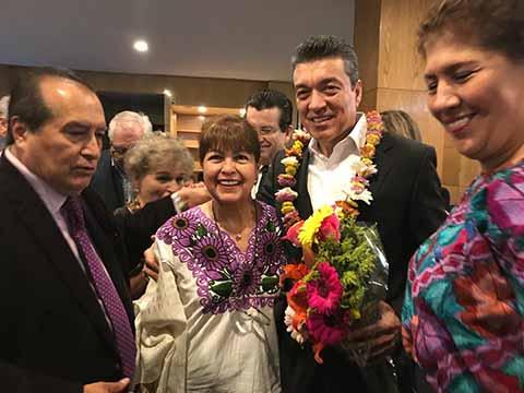 Se Reúne el Gobernador Electo Rutilio Escandón con la Comunidad Chiapaneca en la Ciudad de México