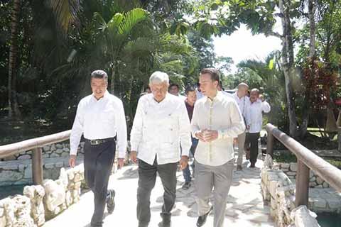 Chiapas agradece a López Obrador por el tren maya: Rutilio Escandón