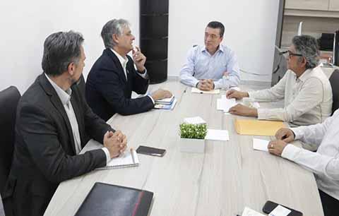 Coordinador Residente de la ONU se Reúne con Rutilio Escandón